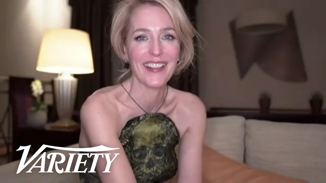 Gillian Anderson Talks Prince Harry's Reaction to 'The Crown'