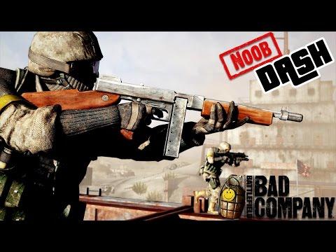 "BATTLEFIELD : Bad Company 2 ""NooB Dash"" Good Old Days Ft. Champudude"