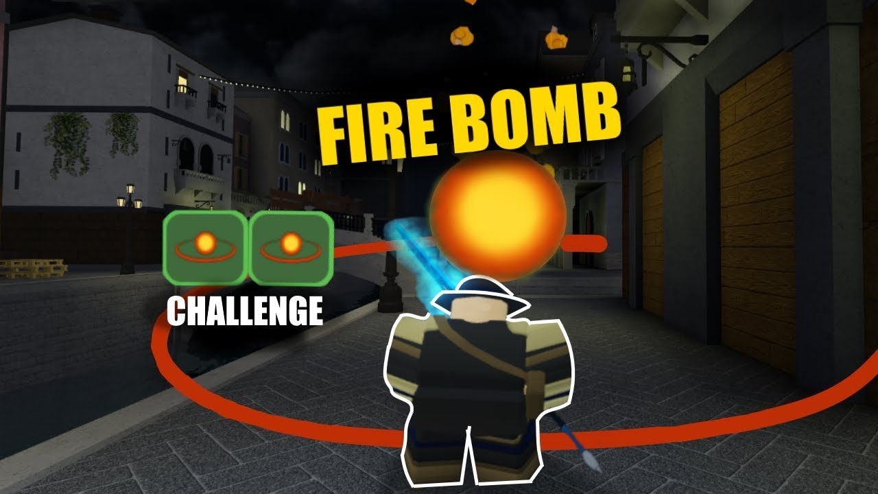 Fire Bomb Challenge In Canals Roblox Dungeon Quest Youtube