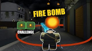 Fire Bomb Challenge in Canals|| Roblox Dungeon Quest