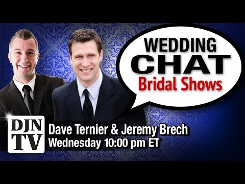 What's Next With Bridal Shows | Wedding Chat with Dave Ternier and Jeremy Brech | #DJNTV