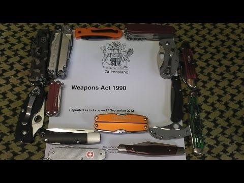 Knife Laws in Queensland Australia