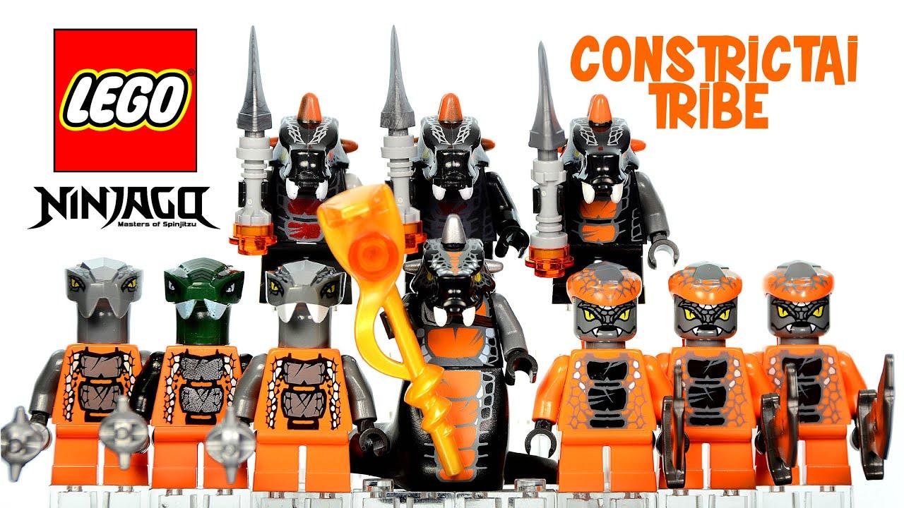 Lego ninjago rise of the snakes serpentine constrictai - Serpent lego ninjago ...