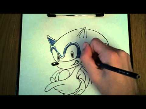 Quick Draw: Episode #1-Sonic the Hedgehog (SA1)