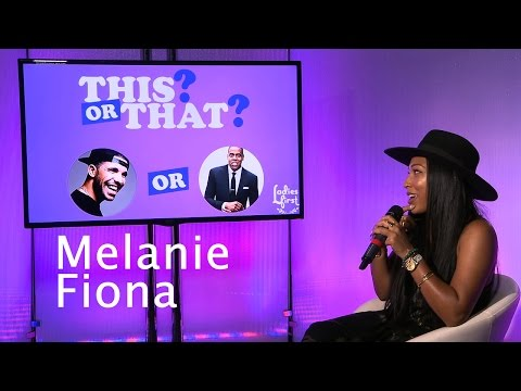 """Melanie Fiona Plays """"This Or That"""" on Ladies First"""