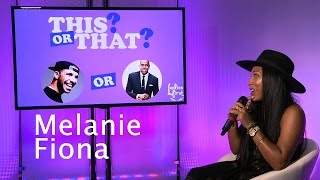 "Melanie Fiona Plays ""This Or That"" on Ladies First Mp3"