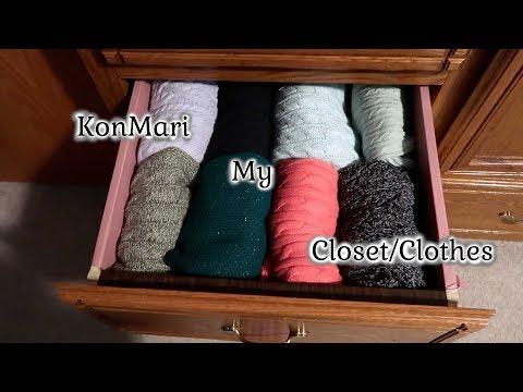 KonMari my Clothes - Decluttering my Closet with the KonMari Method
