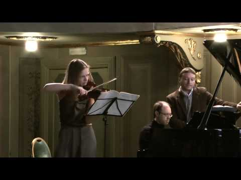 Laura Marzadori - Olaf Laneri - Beethoven Kreutzer Sonata 1st Mov. (Part 1)