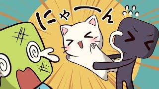 【アニメ】モンスターが猫を拾うとどうなる?【マインクラフト】