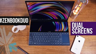 The Asus ZenBook Duo Has Two Screens