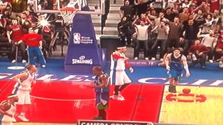 Rare 360 between the legs NBA 2K10
