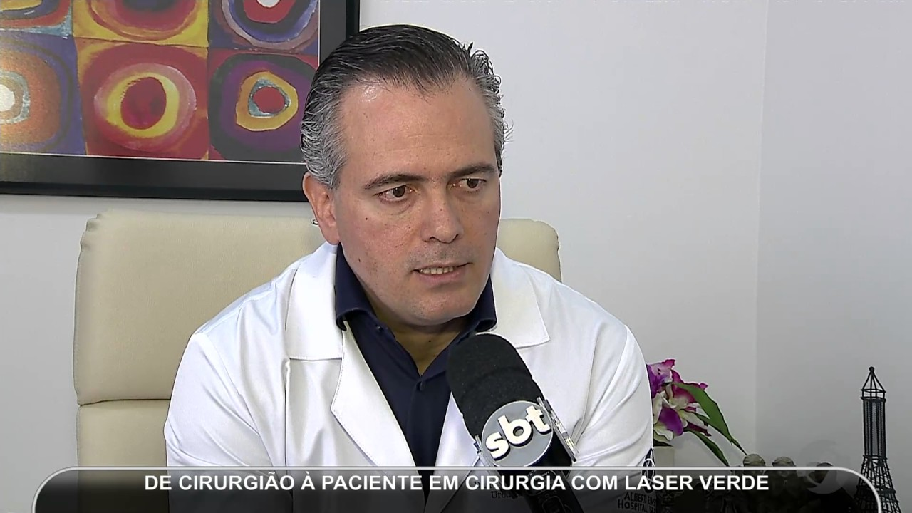 video de cirugía de próstata con láser verde en roma