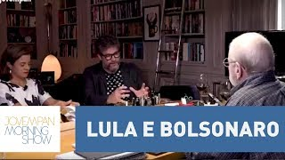 A pedra que Jô Soares diz ter no caminho de Lula e Bolsonaro