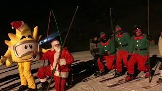 Papa Noel llega a Sierra Nevada...telemarkeando