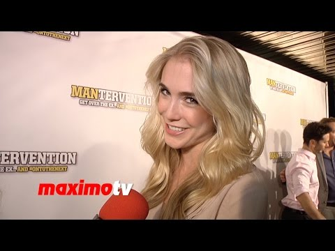 Spencer Locke   Mantervention Premiere  Red Carpet