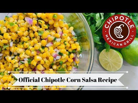 Chipotle's Official Corn Salsa Recipe !