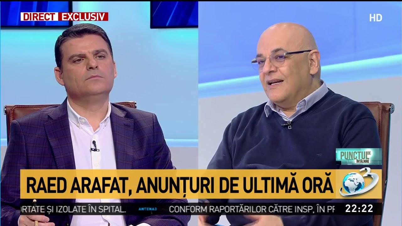 Raed Arafat: Dacă populația nu înțelege măsurile riscul e să apară ...