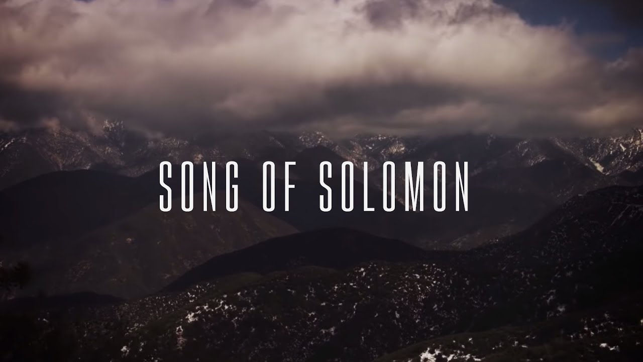 Song of Solomon (Official Lyric Video) - Martin Smith