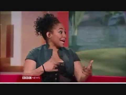 Raven-Symone - BBC Interview for Tinker Bell and Barack Obama (2008)