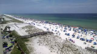 Blue Angel sneak attack. Pensacola Beach July 8, 2017