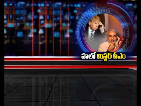Donald Trump Speaks with Narendra Modi on Phone || NTV