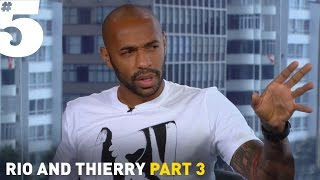 Henry I respect Ronaldo - but Messi is the best in the world  Rio  Thierry Part 3
