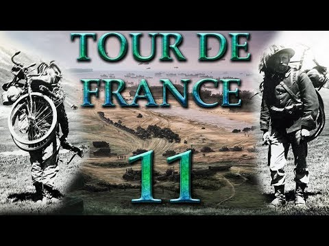 Hearts of Iron 4 Tour de France 11 Die Alliierten kommen (Deutsch / Let's Play)