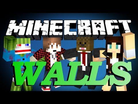 Minecraft The Walls Minigame w/ BajanCanadian, Bashur, AshleyMarieeGaming