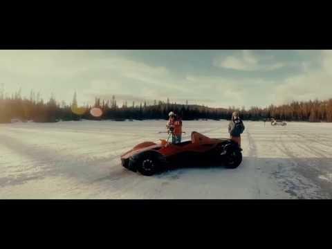 Behind the scenes on BAC Mono and Rockstar 'Singularity' shoot
