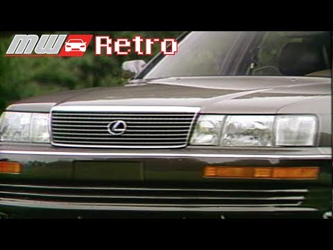 MotorWeek | Retro Review: '90 Lexus LS400 - YouTube