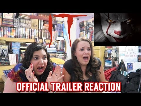 IT OFFICIAL TRAILER REACTION
