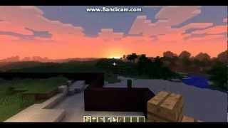 minecraft| the sun goes down the stars come out