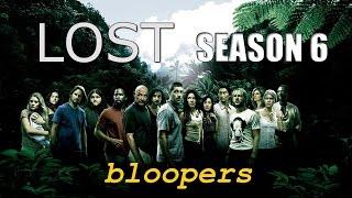LOST Season 6 Bloopers (русские субтитры)