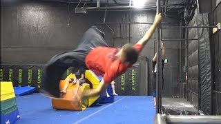 What Would You Call It Vertical Bar Swing Reverse 360 Dive Roll