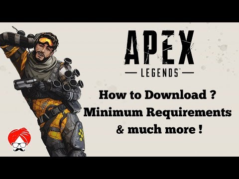 How To DOWNLOAD Apex Legends For FREE ? Minimum Requirements & More