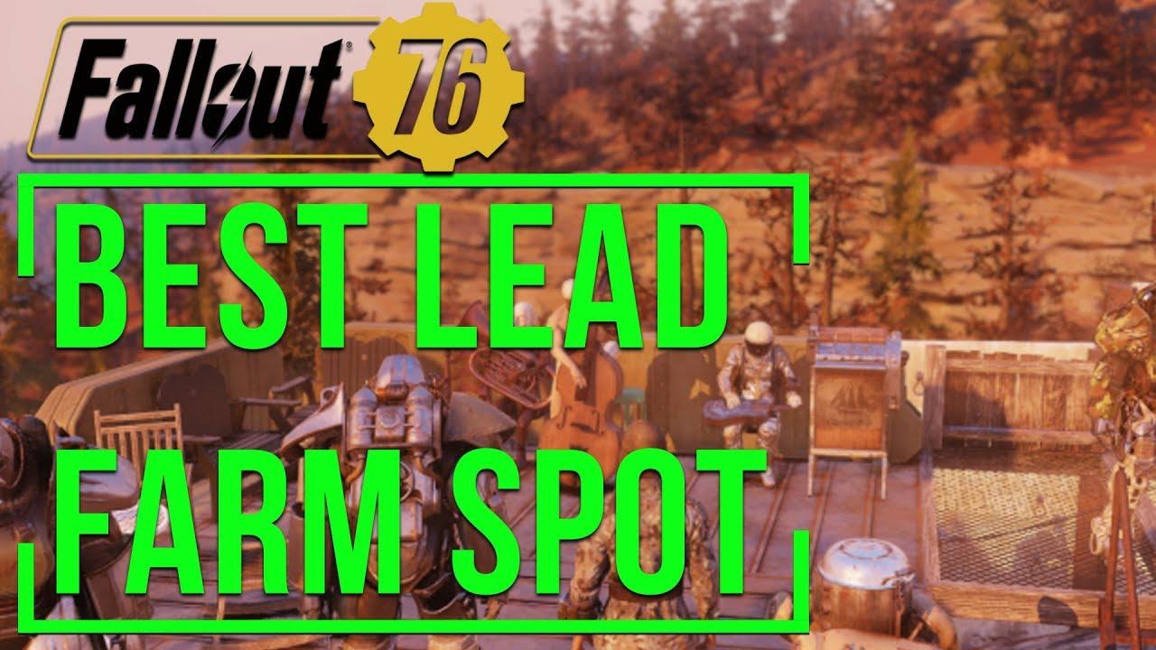 Fallout 76 Best Lead Deposit Location Settlement Mining Design
