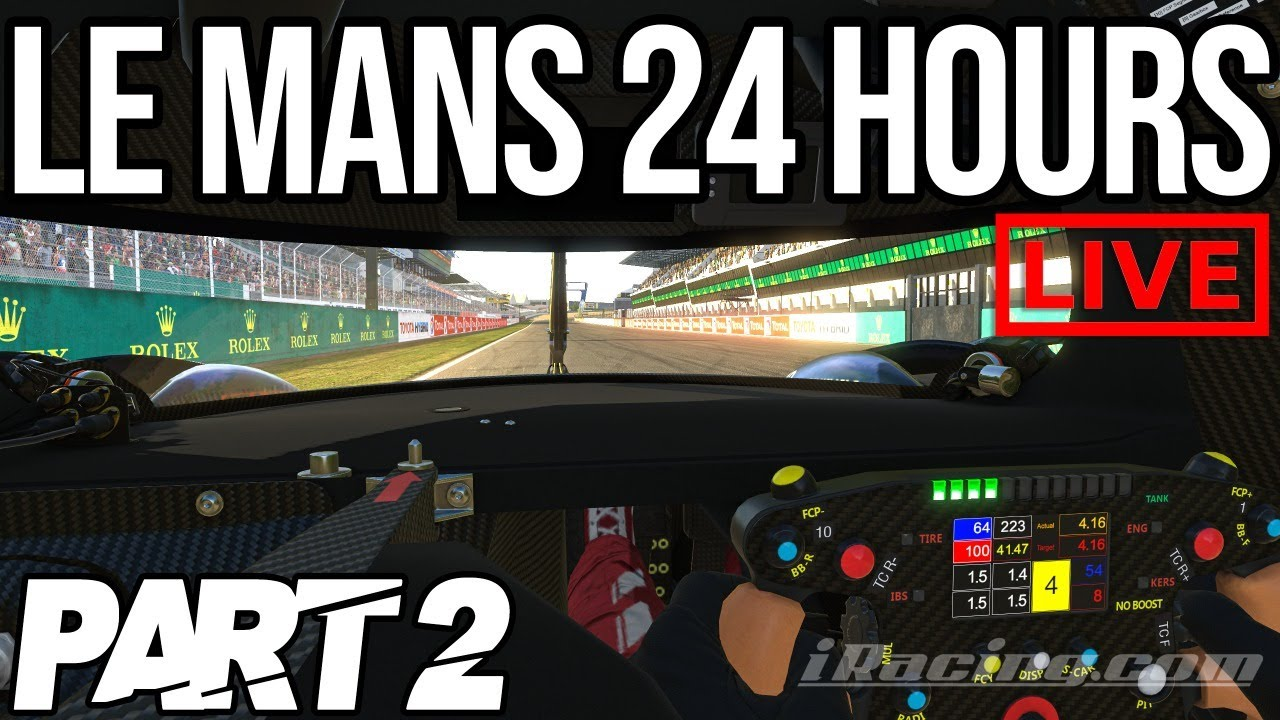 The iRacing 24 Hours Of Le Mans Part 2
