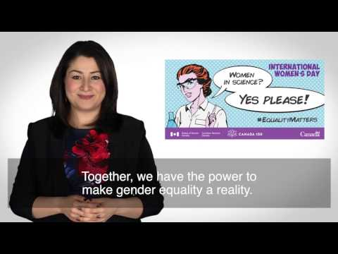 Minister Monsef invites Canadians to celebrate International Women's Day