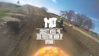 Crockett Myers Battles at 2018 Freestone MX Warm Up MotoChasin