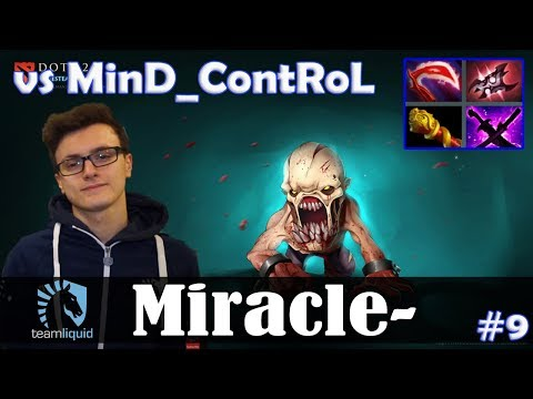 Miracle - Lifestealer Safelane | vs MinD_ContRoL (PA) | Dota 2 Pro MMR Gameplay #9 thumbnail