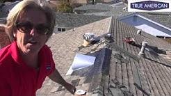 Roof Repair Fix Dormer Vent Wind Damage Torrance Roofing Contractors