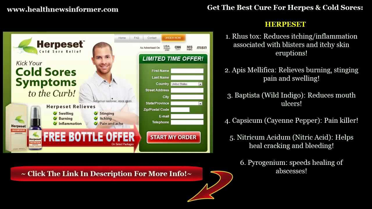 Herpeset 2013 Review The Best Cold Sore And Herpes Cure Really