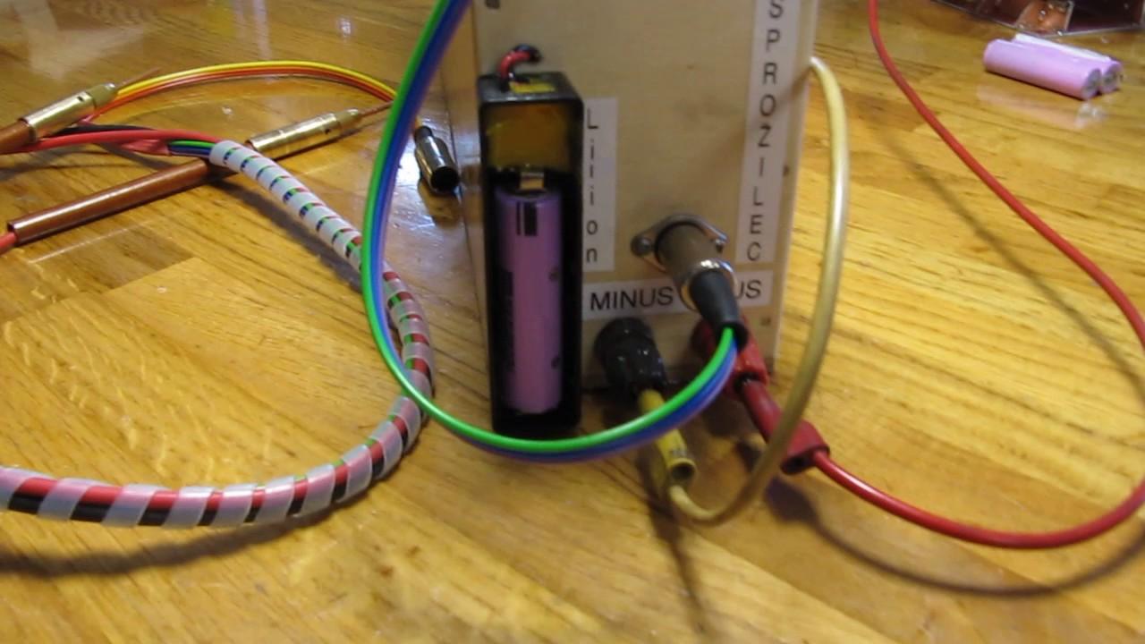 capacitor discharge spot welder [ 1280 x 720 Pixel ]