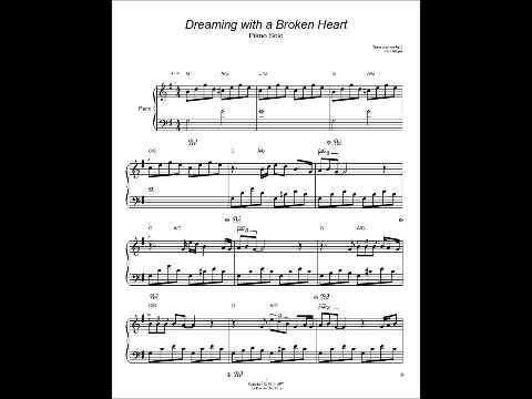 Dreaming With A Broken Heart Piano Solo Sheet Music John Mayer Youtube