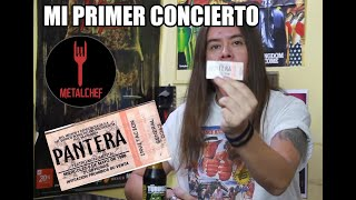 MetalChef | Mi Primer Concierto | Pantera en Chile 1998