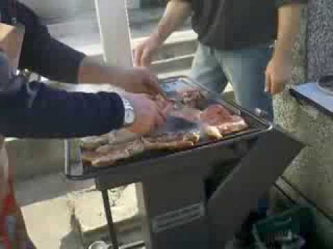 Rocket Stove Bbq Quot In Action Quot Youtube