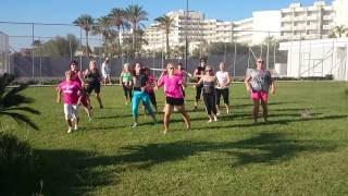 Rainbow karmin shiff zumba rhodes greece