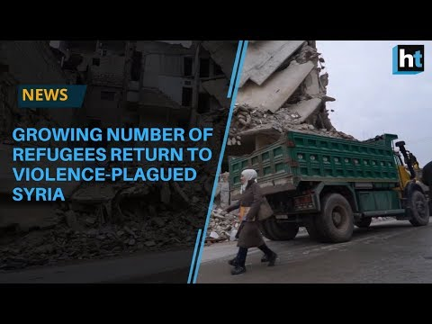 Growing number of refugees return to violence-plagued Syria