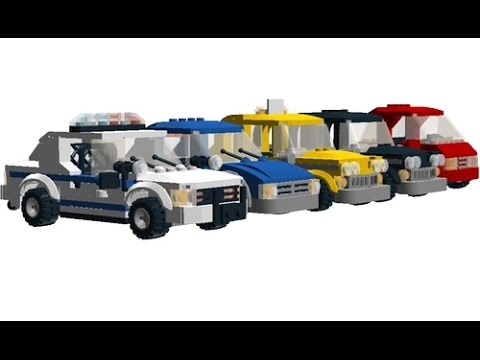 Lego Marvel Super Heroes: All Emergency vehicles - YouTube