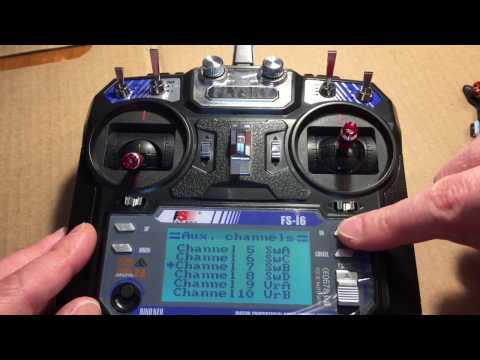 Flysky FS-i6 Einstellungen mit Betaflight 3.1.6 und dem FS-A8S